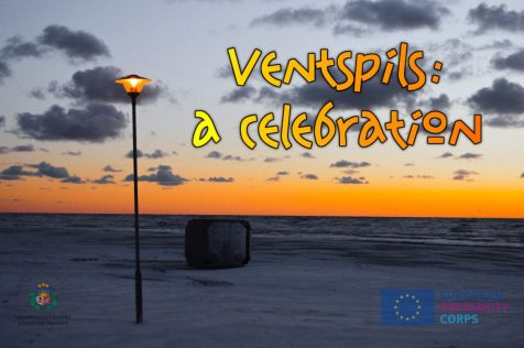 Ventspils, a celebration - Poster with logos
